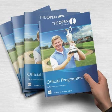 The Open Championship Programme 2013